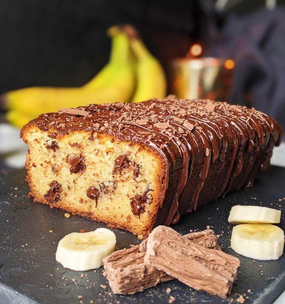glutenfreier Bananenschokoladenbrotkuchen