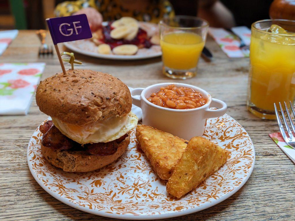cosy club bristol gluten free