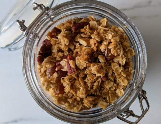 pecan and maple gluten free granola