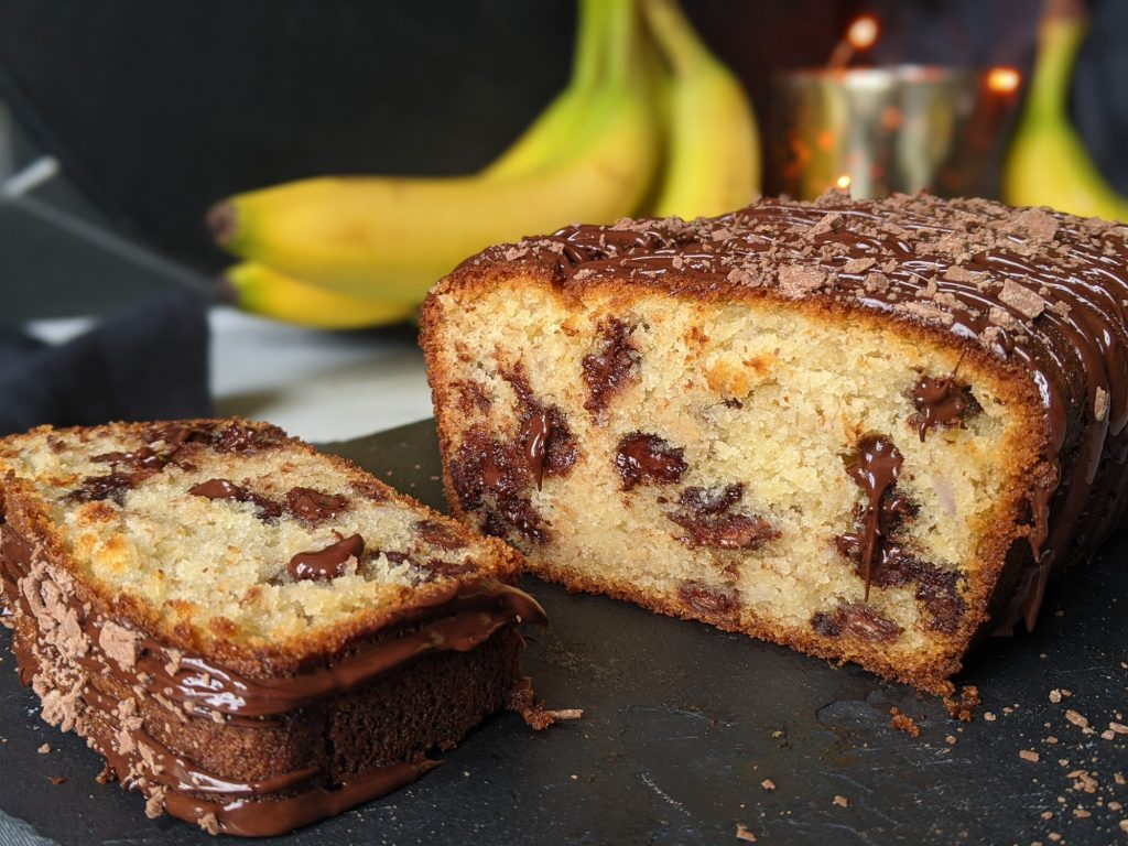 Schokoladensplitter Bananenbrot glutenfrei uk