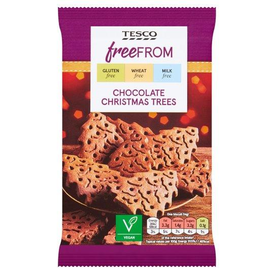 tesco chocolate christmas trees 2020