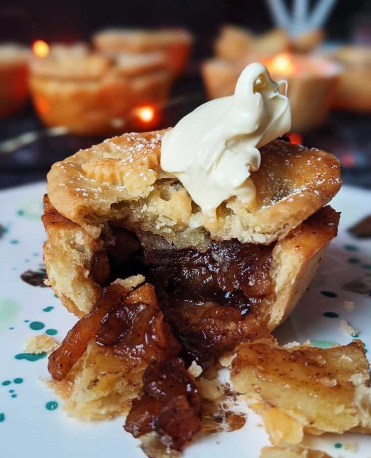 Mini Spiced Caramel Apple Pies (GF)