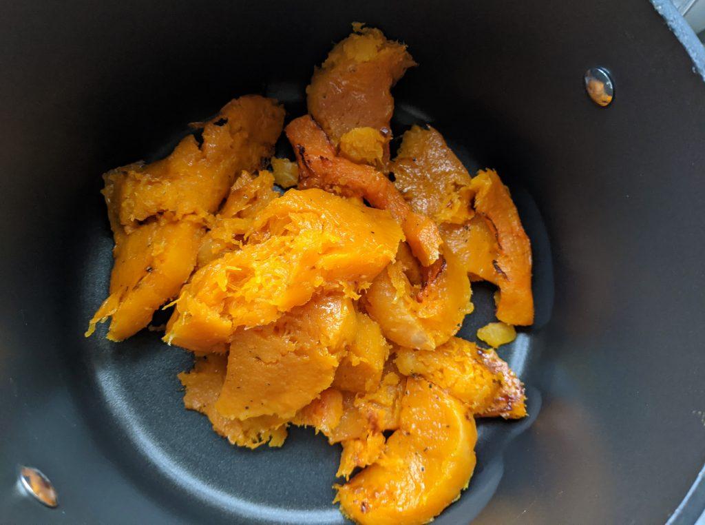 butternut squash roasted flesh