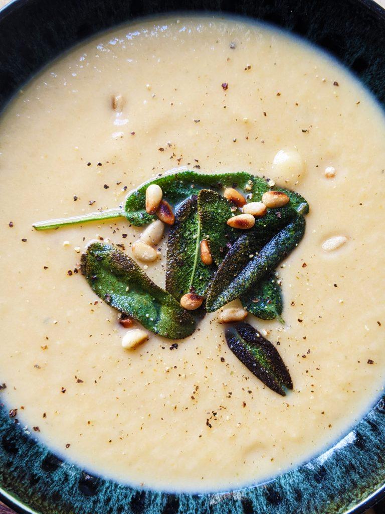 no cream celeriac soup recipe