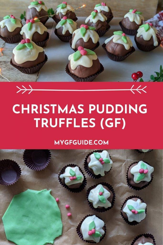 christmas pudding truffles gluten free