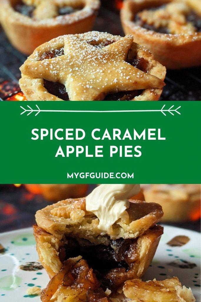 spiced caramel apple pies pinterest