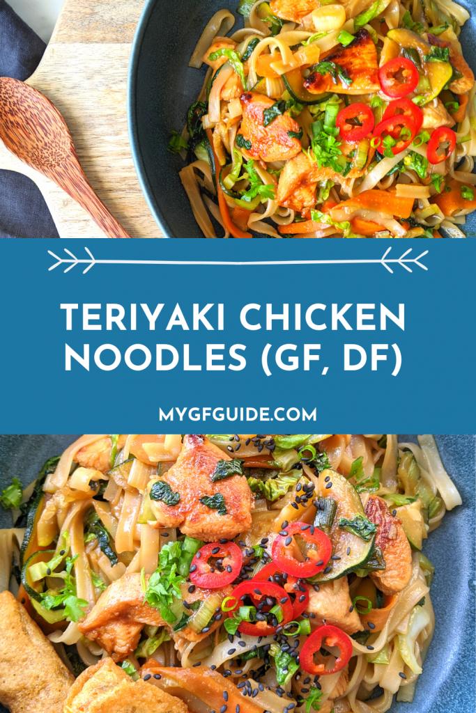 gluten free teriyaki chicken noodles recipe