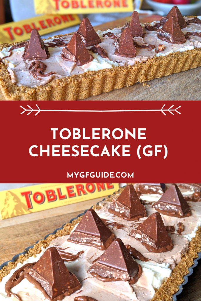 make gluten free toblerone cheesecake
