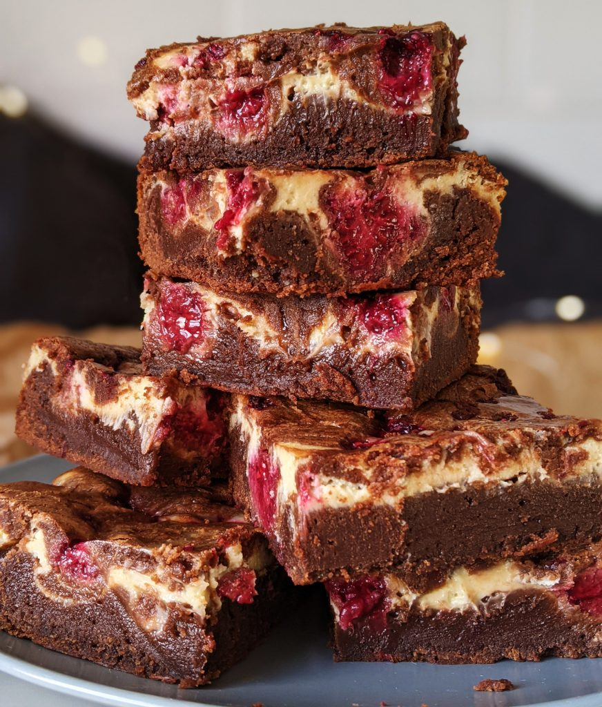 gluten free raspberry cheesecake brownies recipe uk