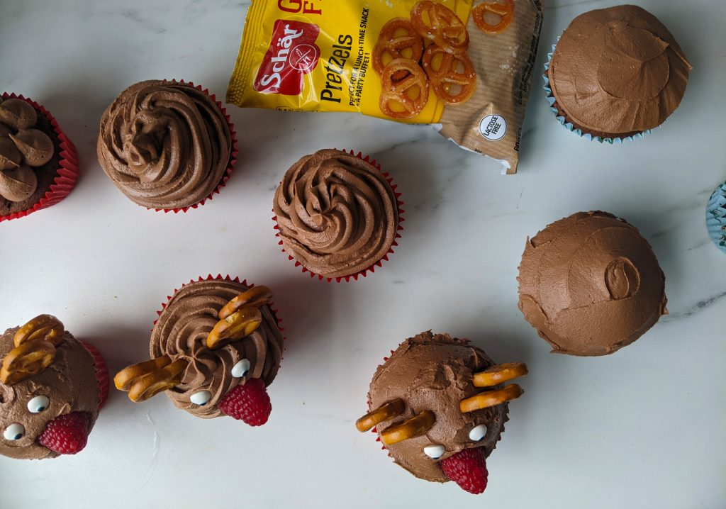 make gluten free cupcakes festive