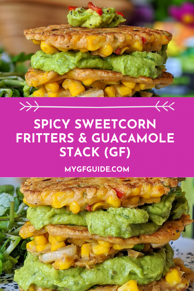 gluten free sweetcorn fritters
