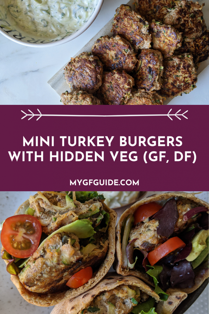 mini turkey burgers with hidden veg recipe