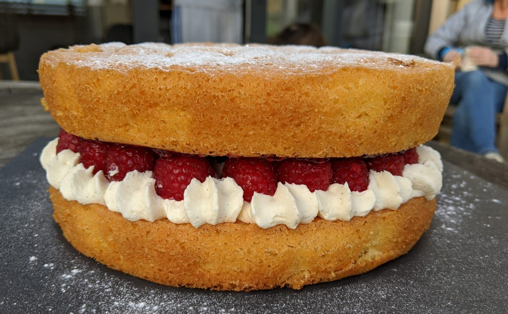 gluten free classic sponge cake