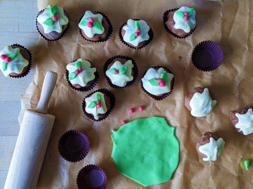 gluten free christmas pudding truffles recipe