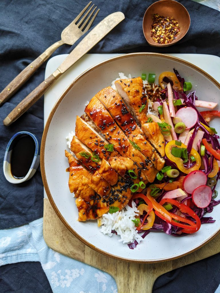 healthy honey and soy chicken recipe