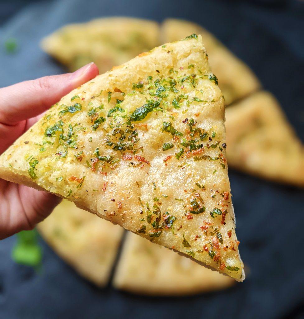 gluten free garlic pizza bread recipe uk