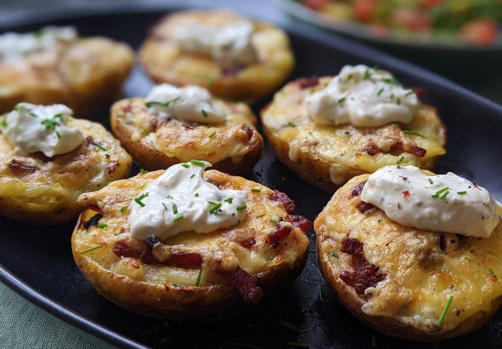 gluten free loaded potato skins recipe uk