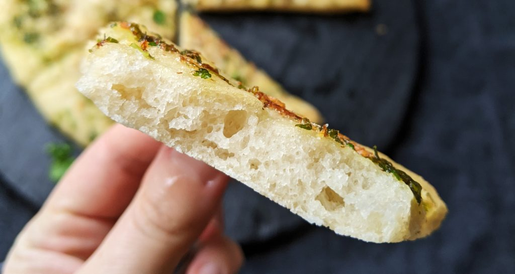 garlic pizza bread gluten free