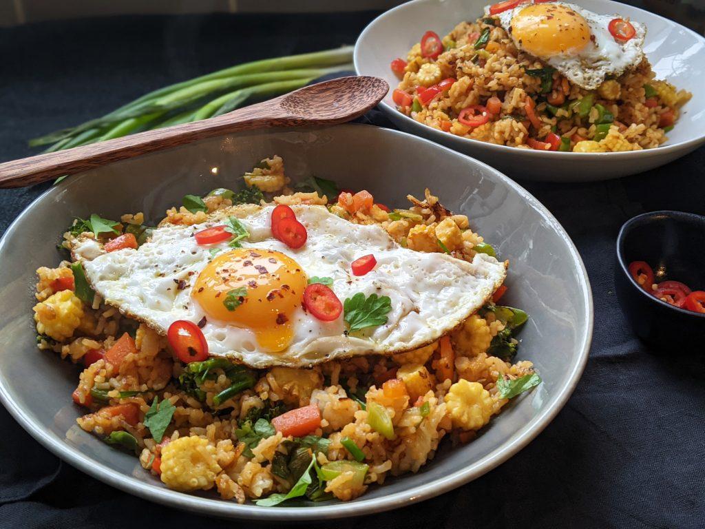 gluten free nasi goreng recipe uk