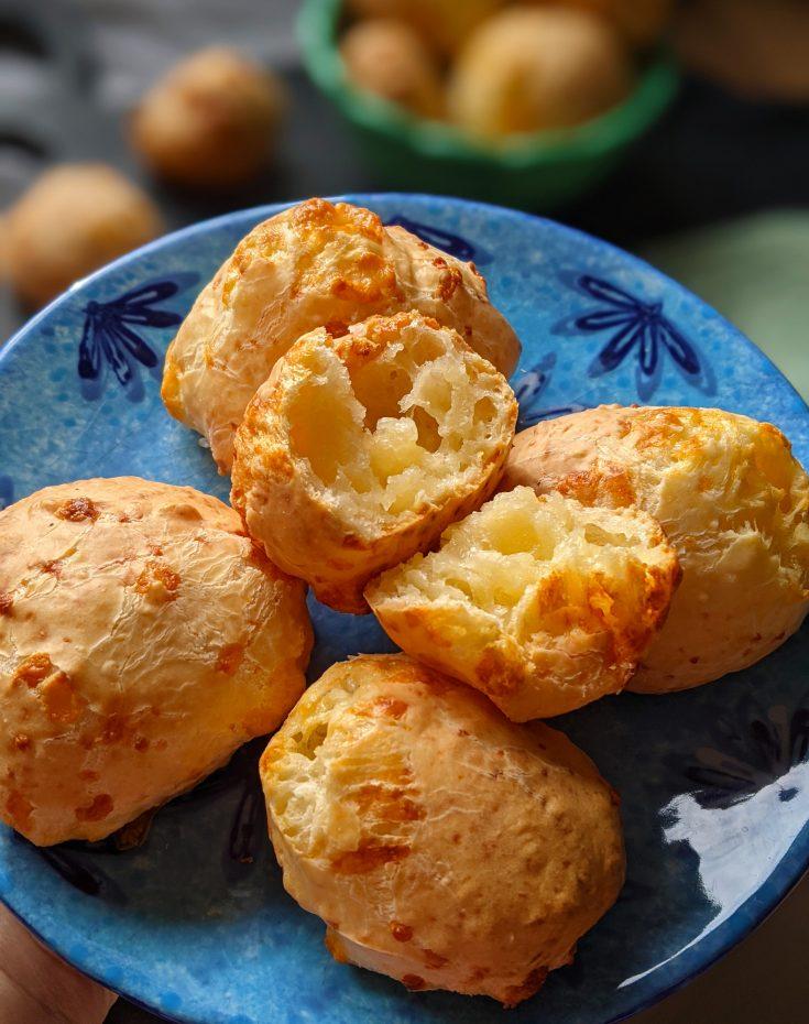 Pao de Queijo (Brazilian Cheese Bread) (GF)