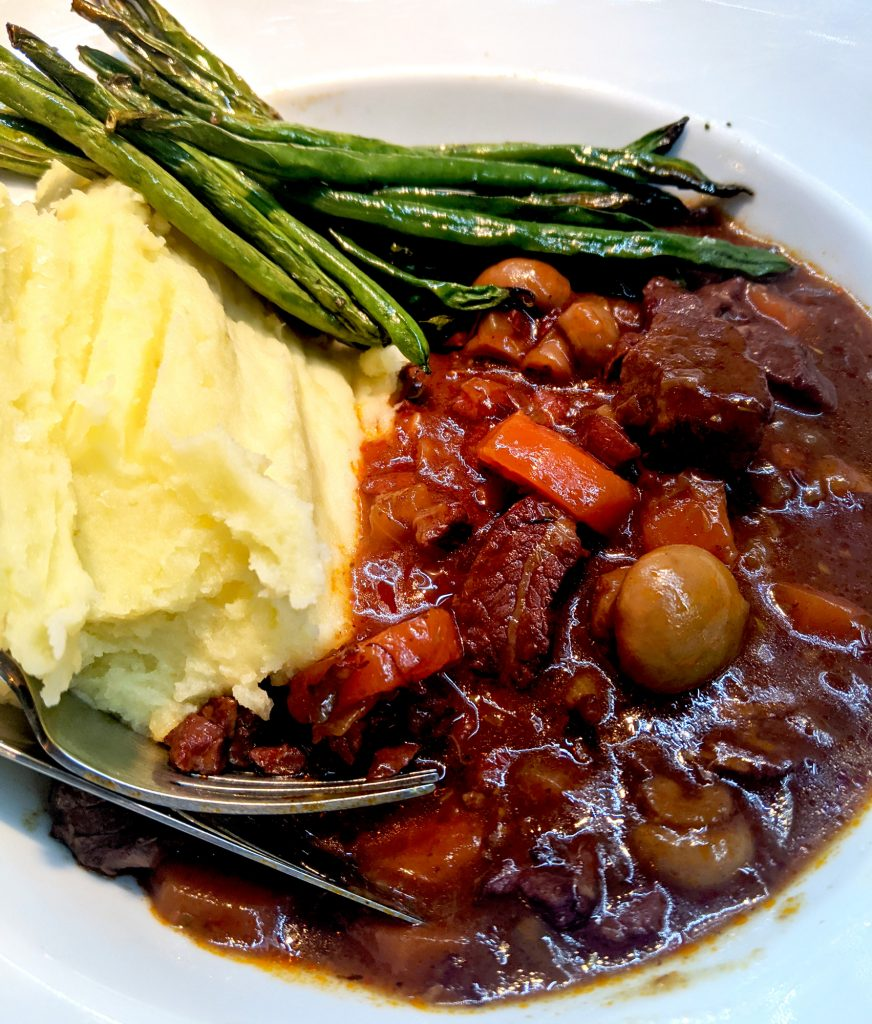 beef & red wine stew