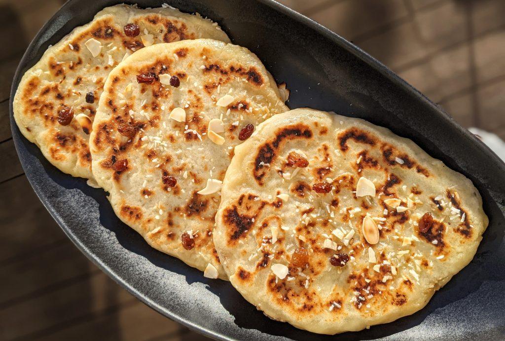 how to make gluten free peshwari naan
