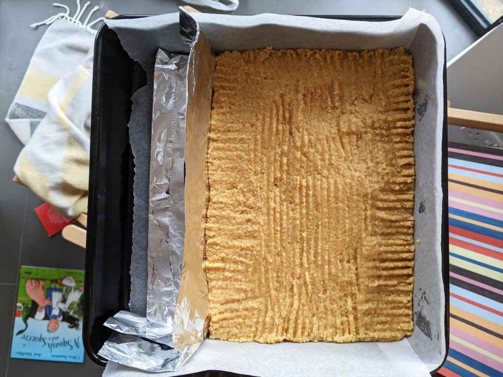 millionaires shortbread biscuit base