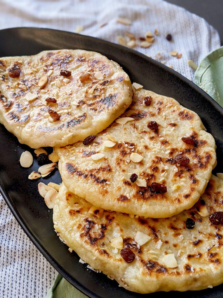 gluten free peshwari naan