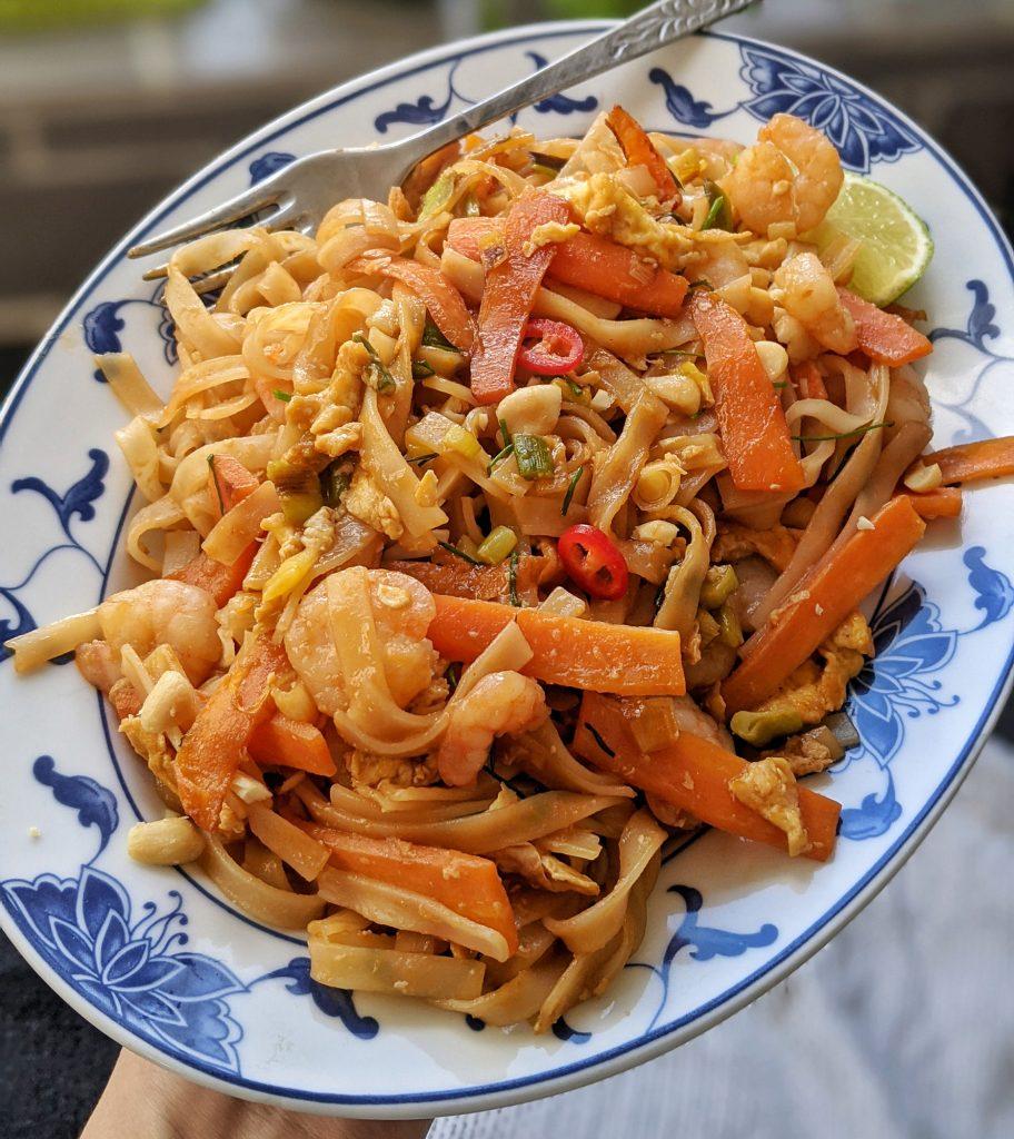 easy pad thai recipe uk