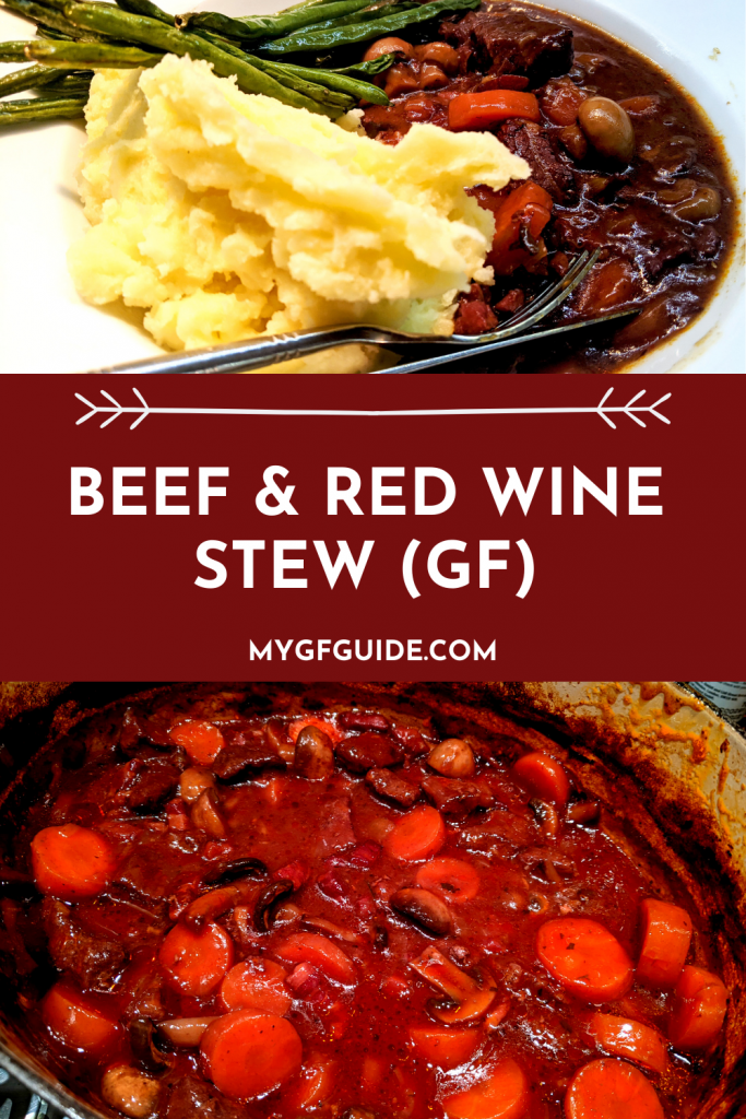 beef & red wine stew pinterest