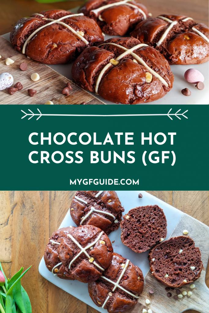 pinterest gluten free chocolate hot cross buns