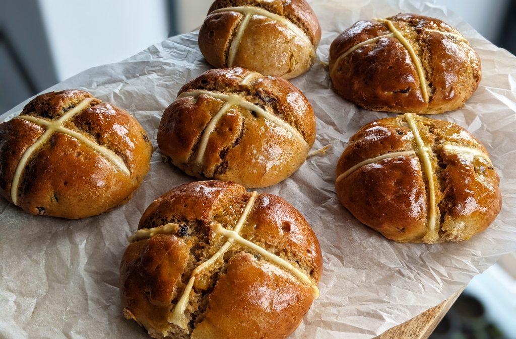 easy gluten free hot cross buns recipe uk