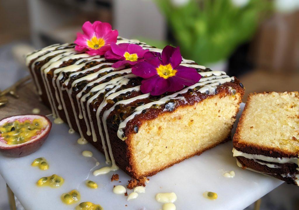 passion fruit loaf cake recipe uk