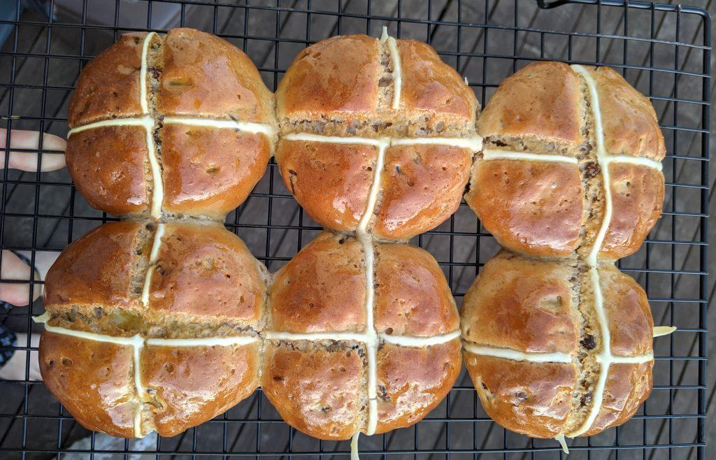 gluten free hot cross buns recipe uk