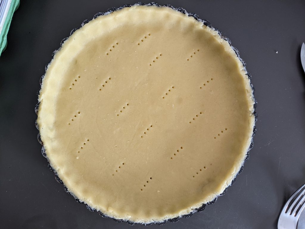 gluten free sweet shortcrust pastry