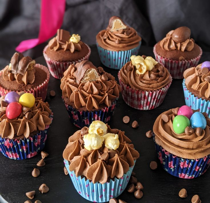 Double Chocolate Chip Cupcakes (GF)