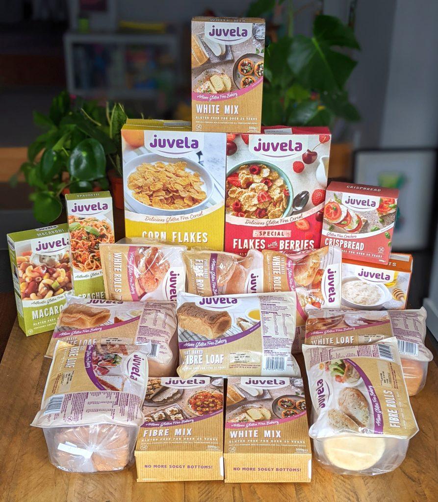 juvela gluten free large mixed box