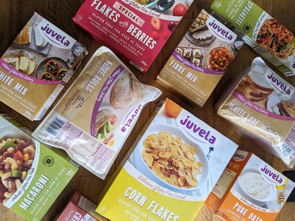 juvela gluten free mixed box