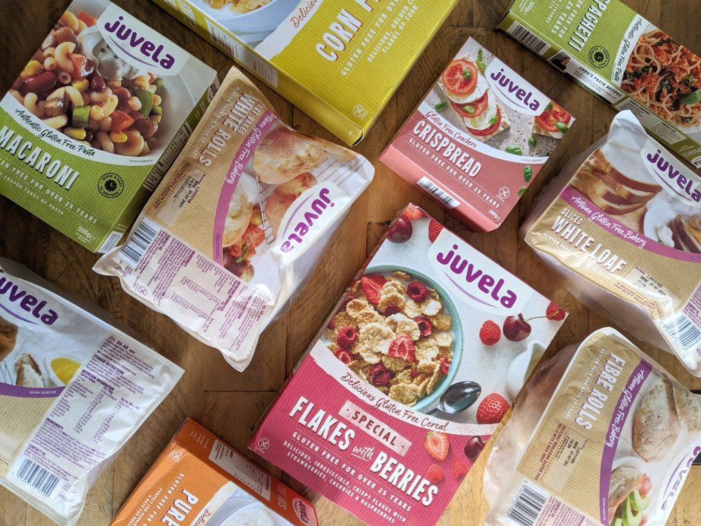 Juvela gluten free pantry box