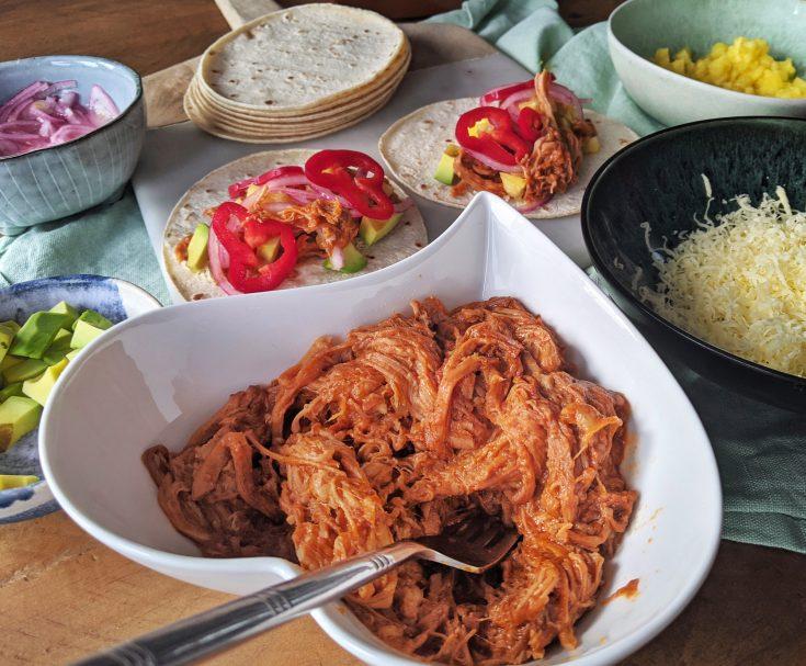 Easy BBQ Pulled Pork (GF, DF)