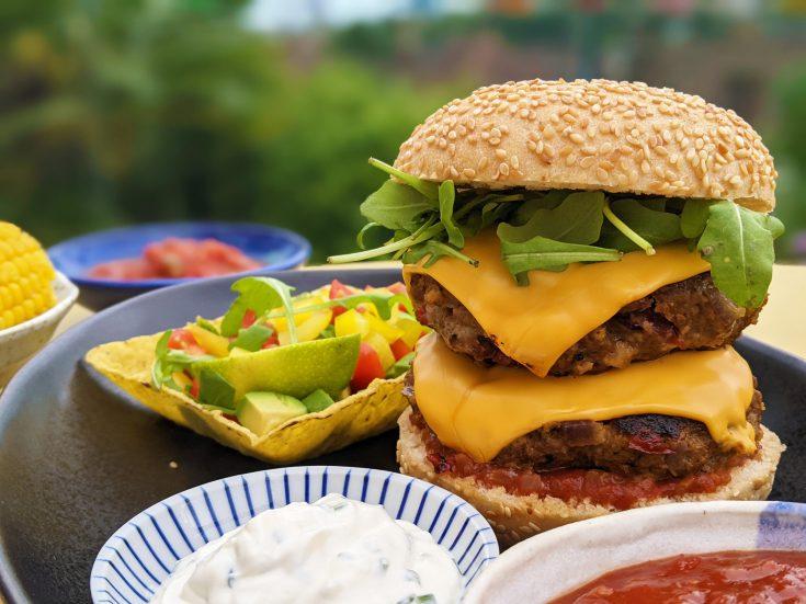 Tex Mex Beef Burgers (GF)