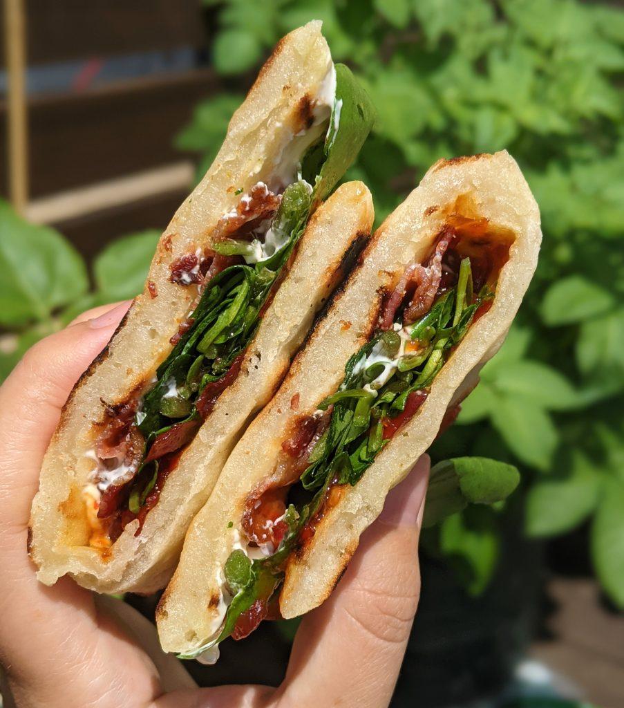 gluten free bacon naan dishoom recipe