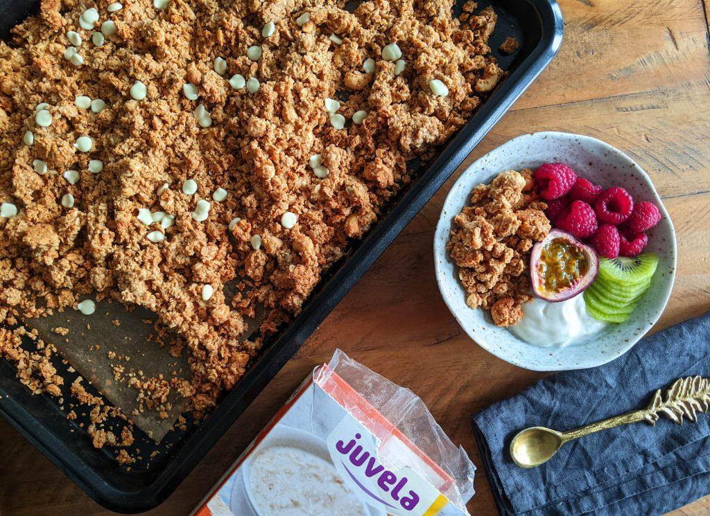 peanut butter granola gluten and dairy free recipe