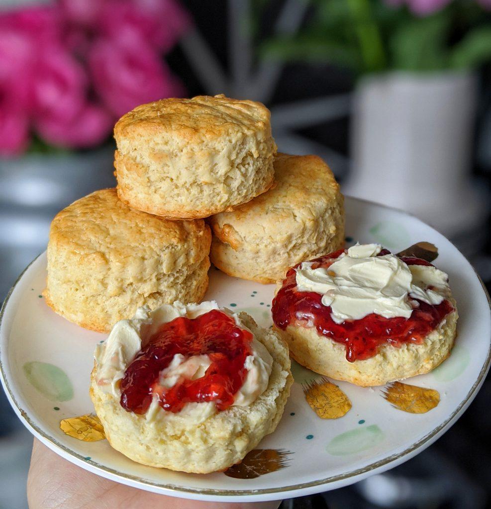 gluten free scones recipe uk
