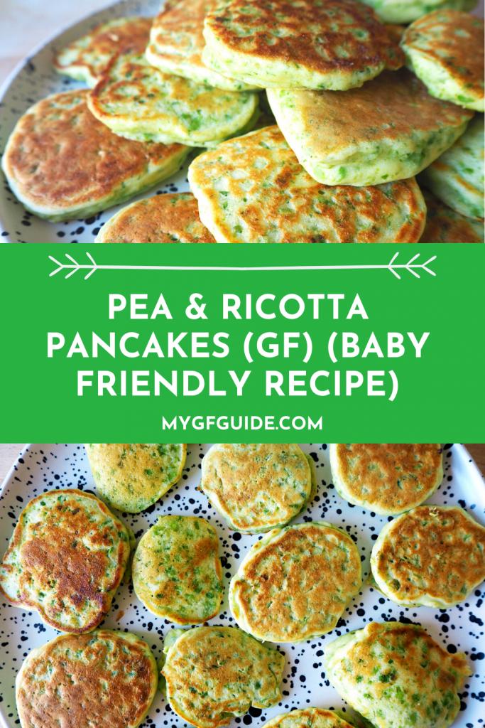 pinterest pea and ricotta pancakes gluten free