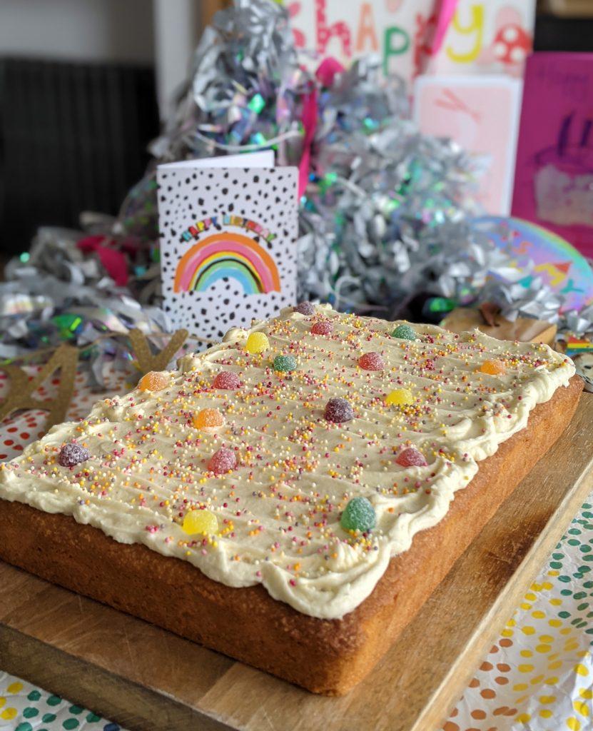 gluten free vanilla sheet cake recipe uk