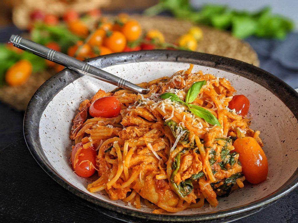 gluten free creamy tomato pasta