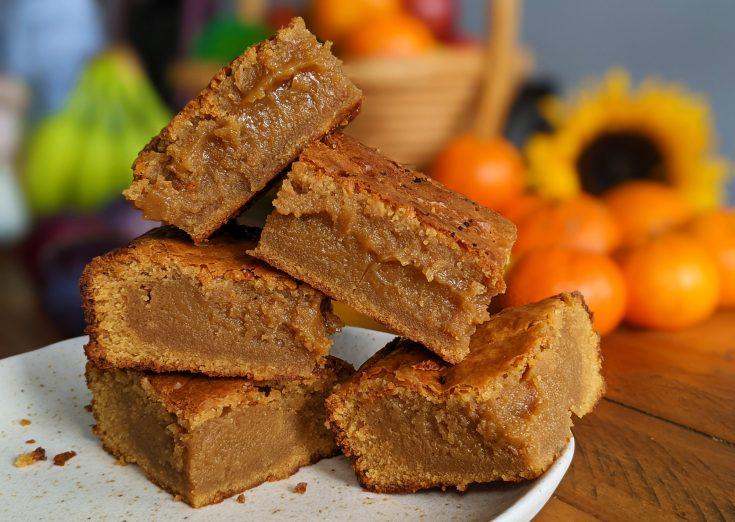 Blonde Chocolate Brownies (GF)