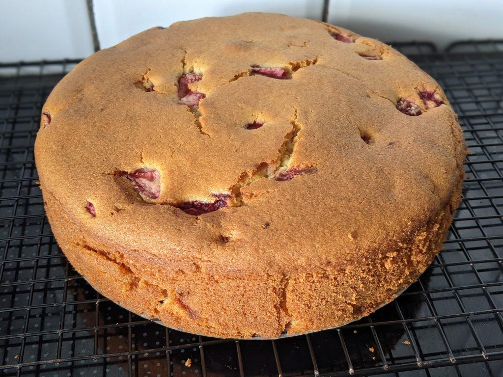 strawberry and ricotta cake recipe gluten free