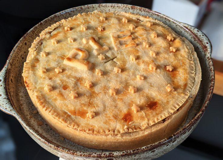 Chicken, Mushroom & Pancetta Gluten Free Pie
